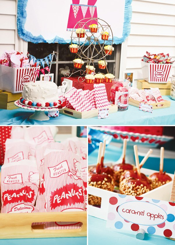 circus party food