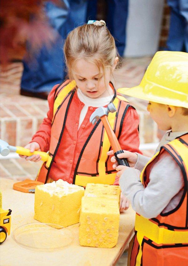 construction birthday activities
