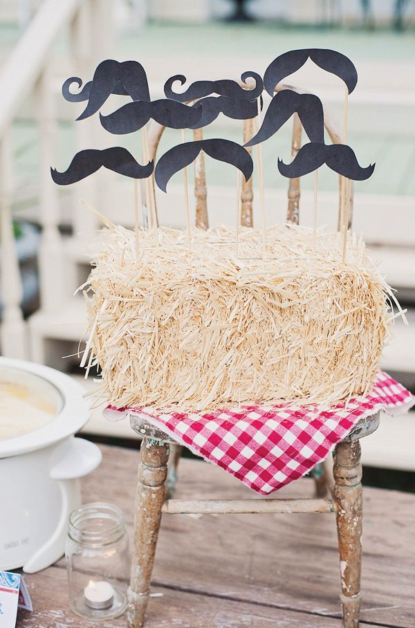 cowboy party mustaches