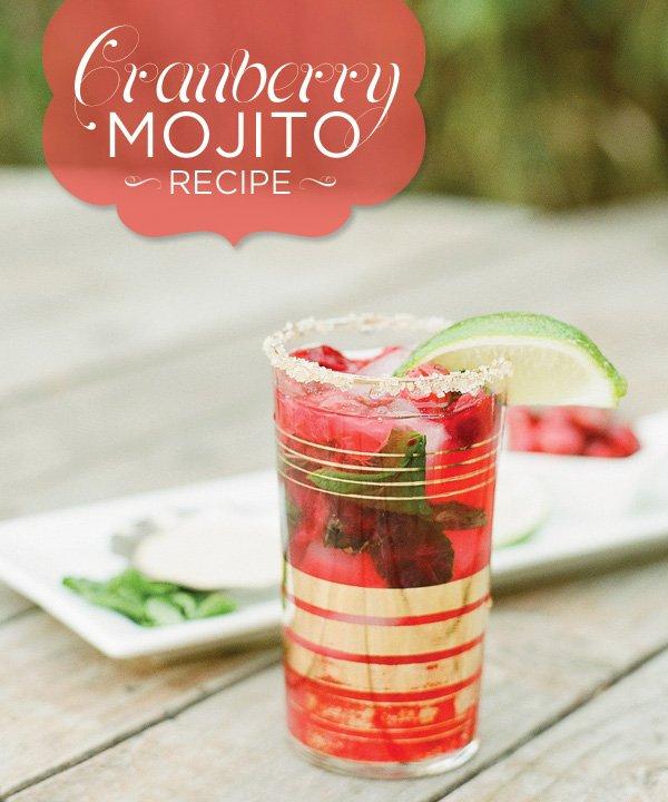 The Perfect Winter Cocktail: Cranberry Mojito Recipe