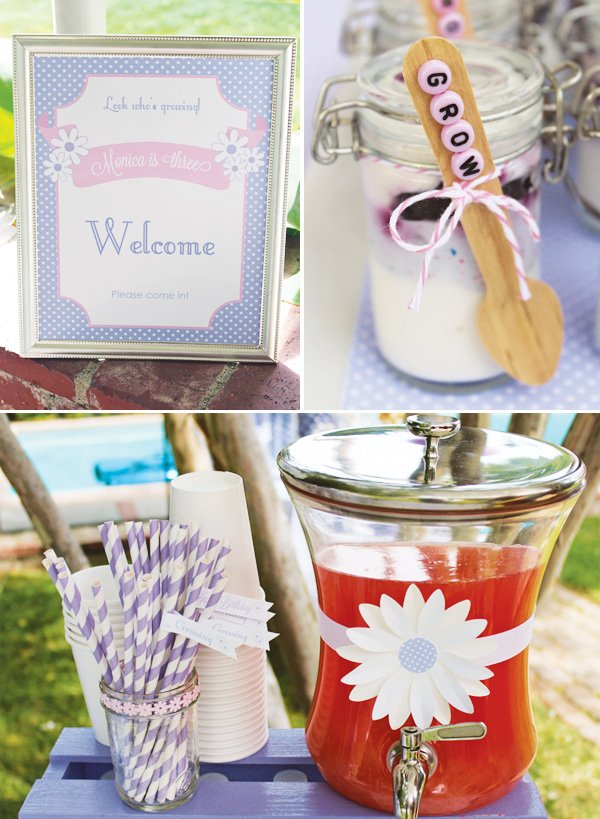 daisy party ideas