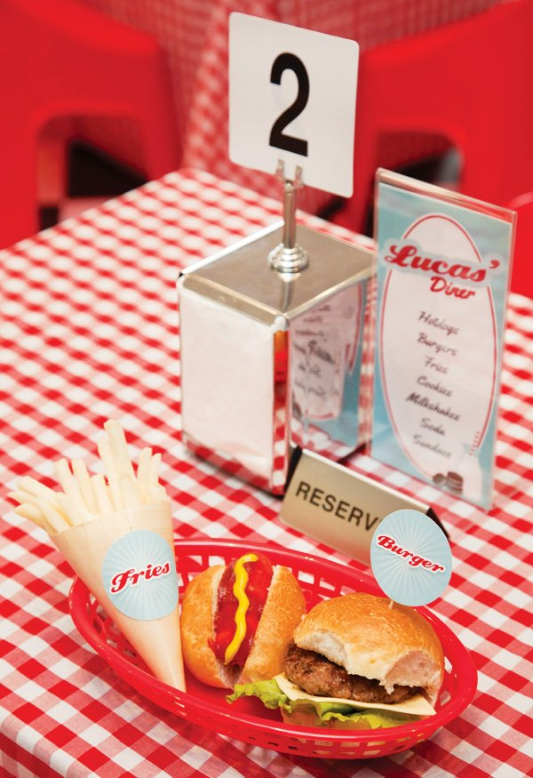 Awesome Retro 50 S Diner Party 2nd Birthday Hostess