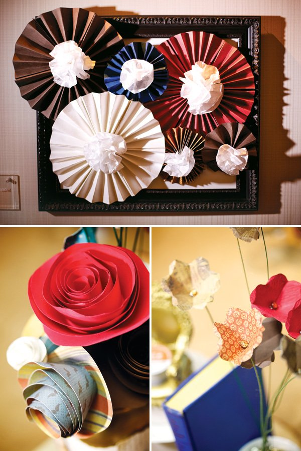 diy paper flowers by hostess with the mostess