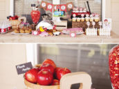 farm dessert table