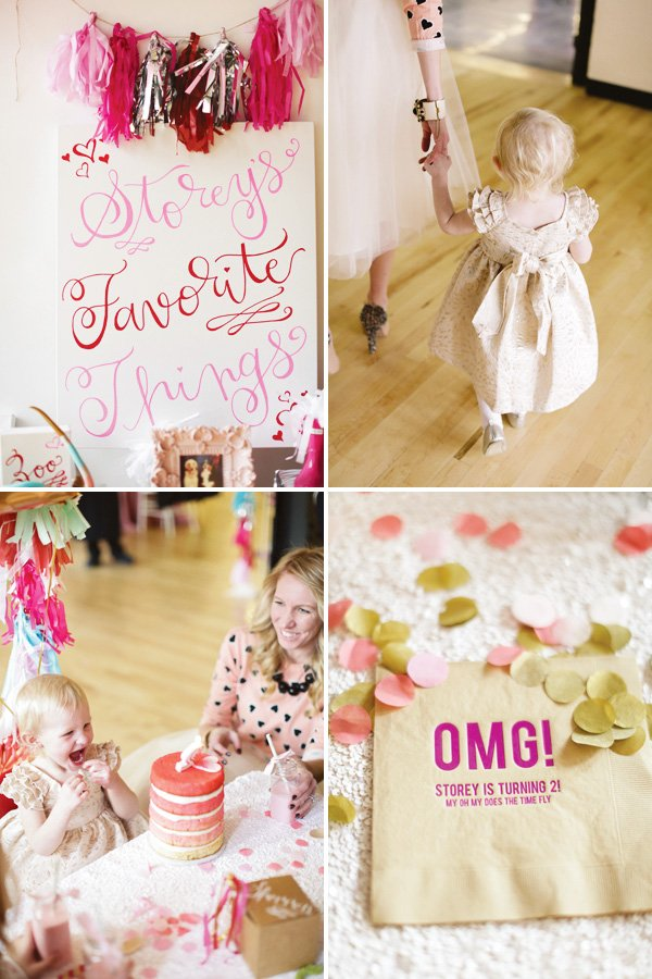 favorite things party idea