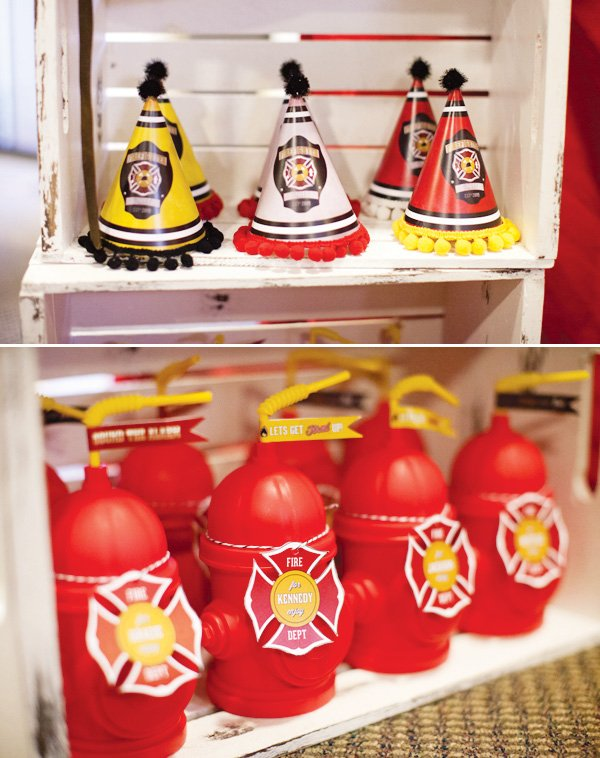 fire house party favors