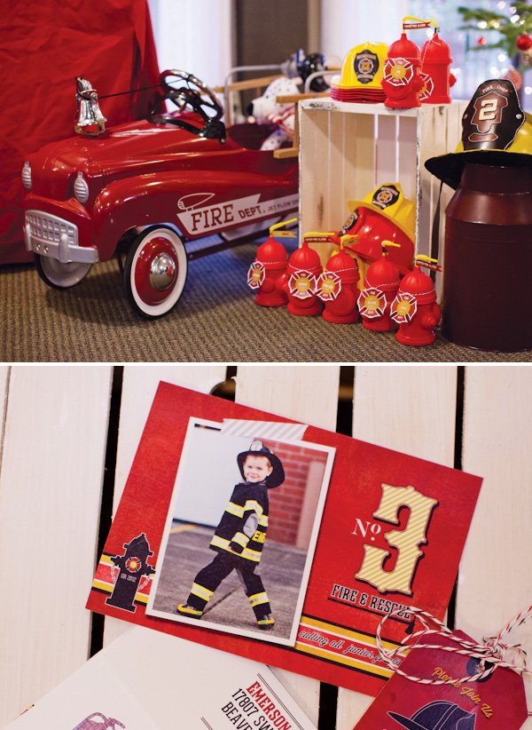 fire house party ideas
