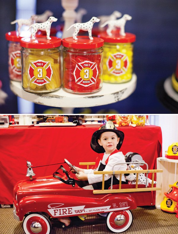 fire truck birthday