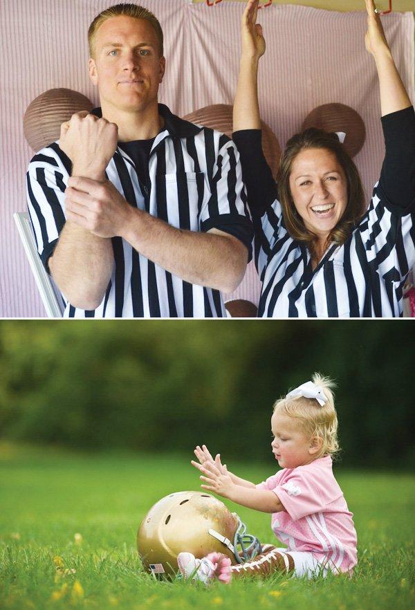 referee football photo booth