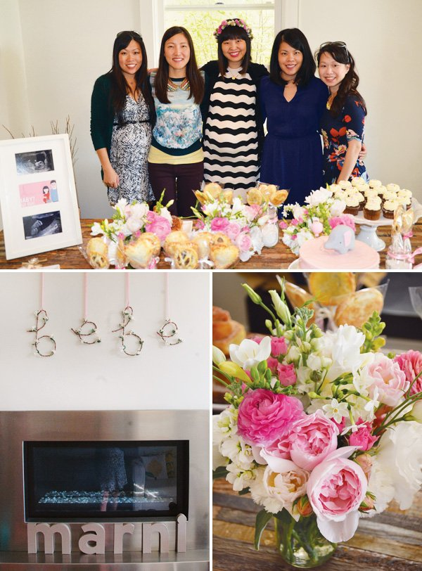 french pink baby shower