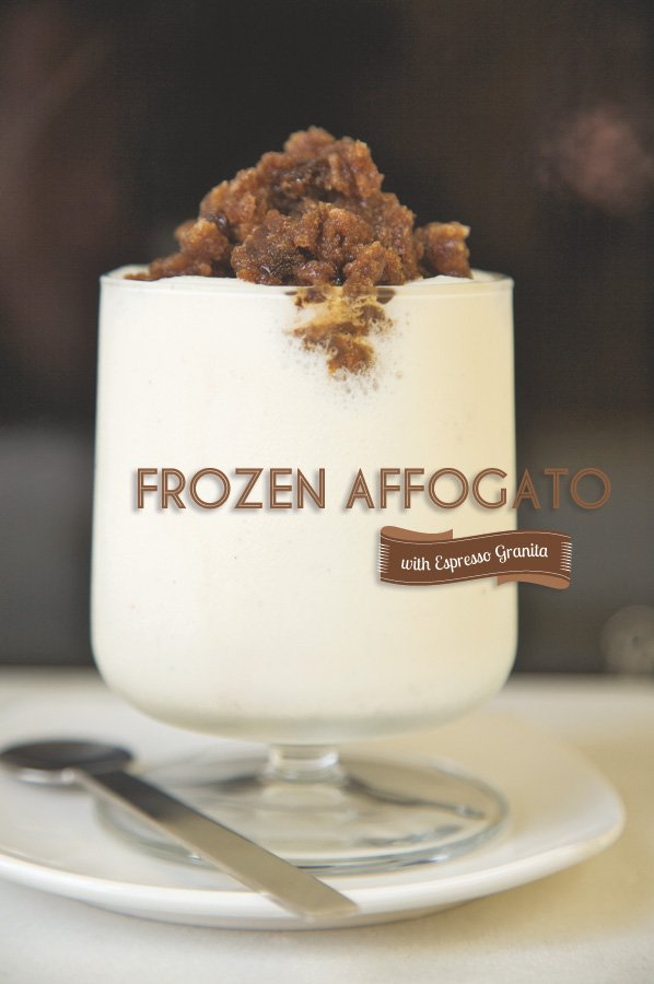 frozen affogato