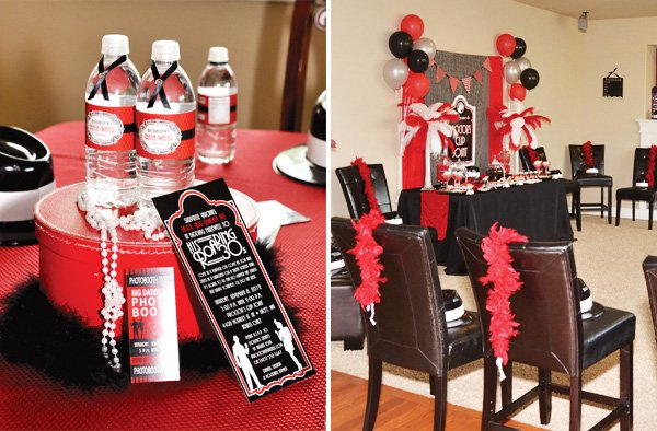 gangster party budget friendly ideas