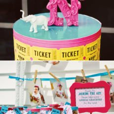 circus party animal cracker favors