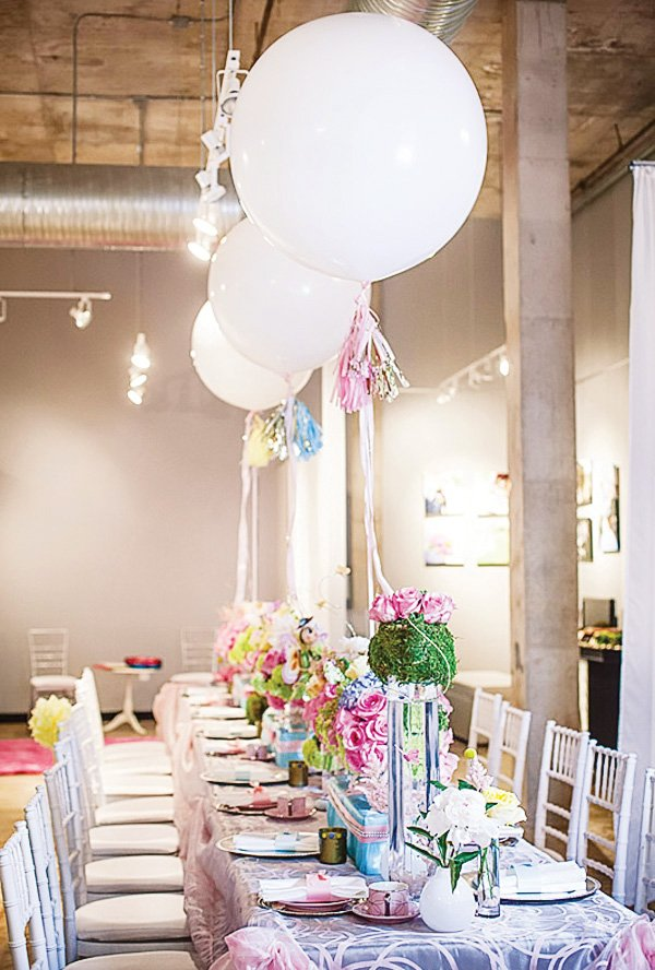 tea party tablescape