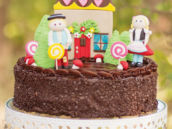 hansel and gretel cake