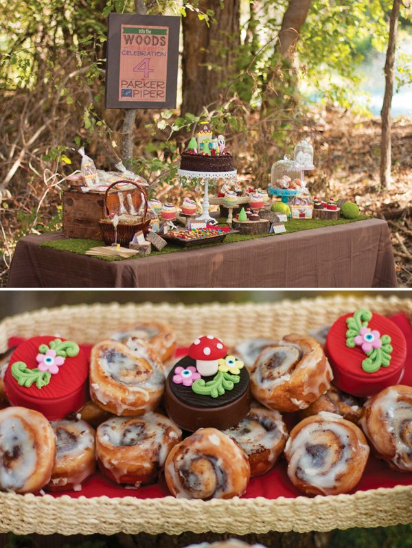 hansel and gretel dessert table