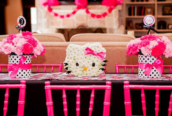 hello kitty tablescape