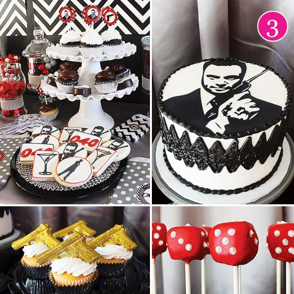 Party of 5 valentine playdate football party james for 007 decoration ideas