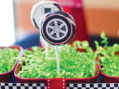 mini cooper spare tire lollipops