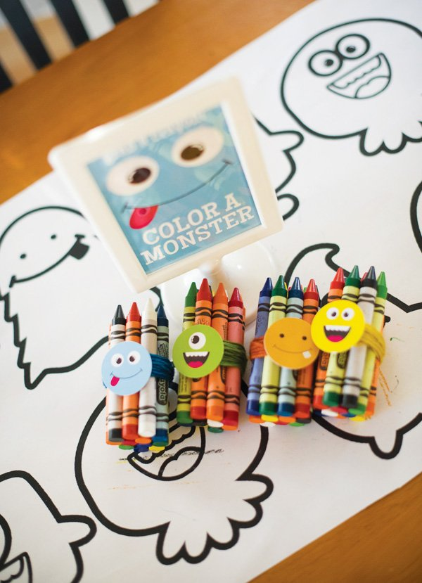 monster party activity