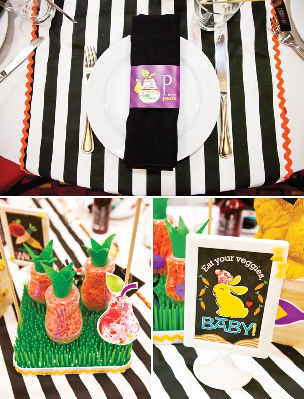 operation shower baby bistro napkin rings