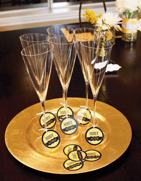 oscar party from hwtm with free printables