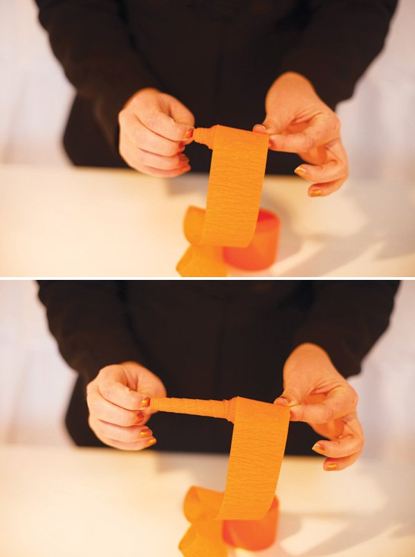 paper carrot diy step 3
