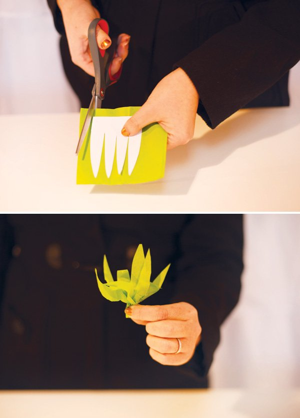 paper carrot diy step 5