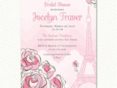 Paris Bridal Shower Invitation - Hostess INK