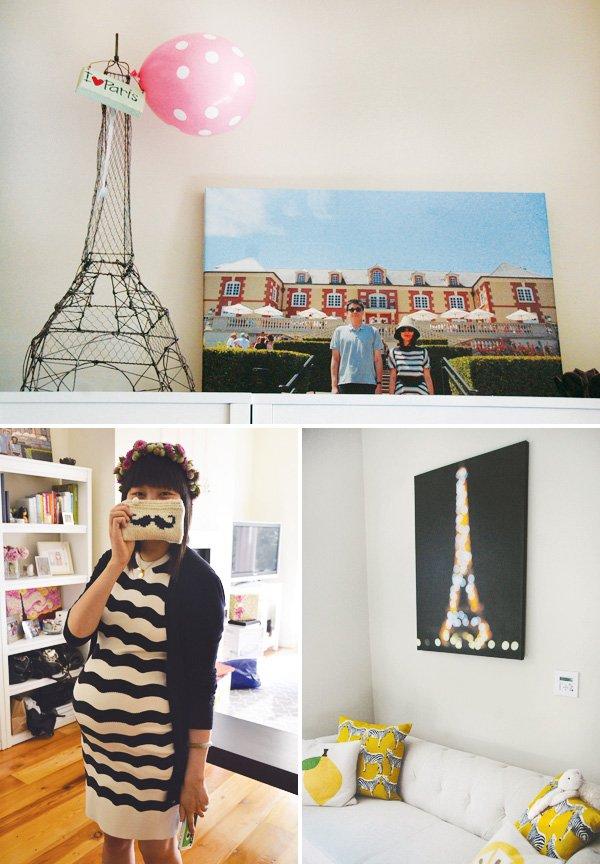 paris inspired baby shower