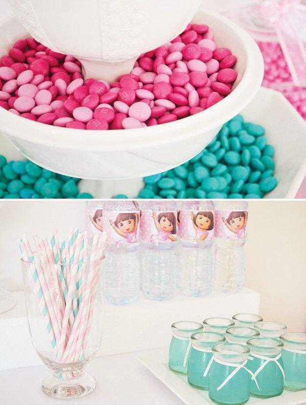 pink dora candy