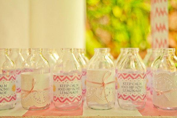 lemonade drink bottle wrappers