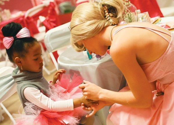 pink paris ballerina party
