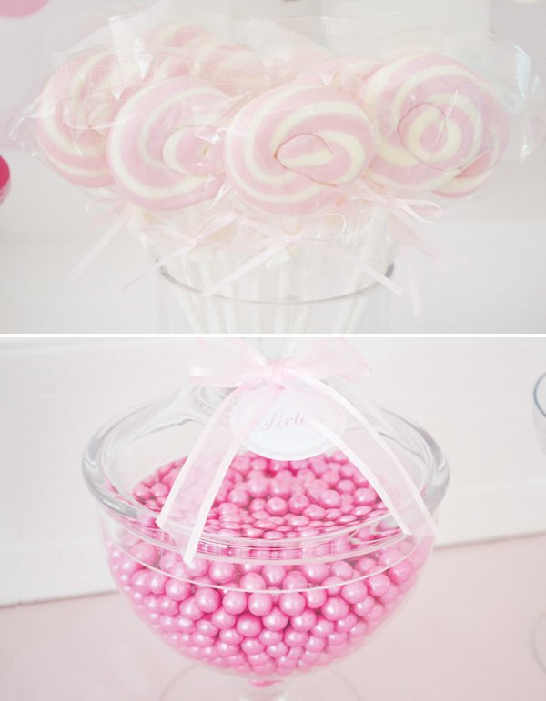 pink swirl pops