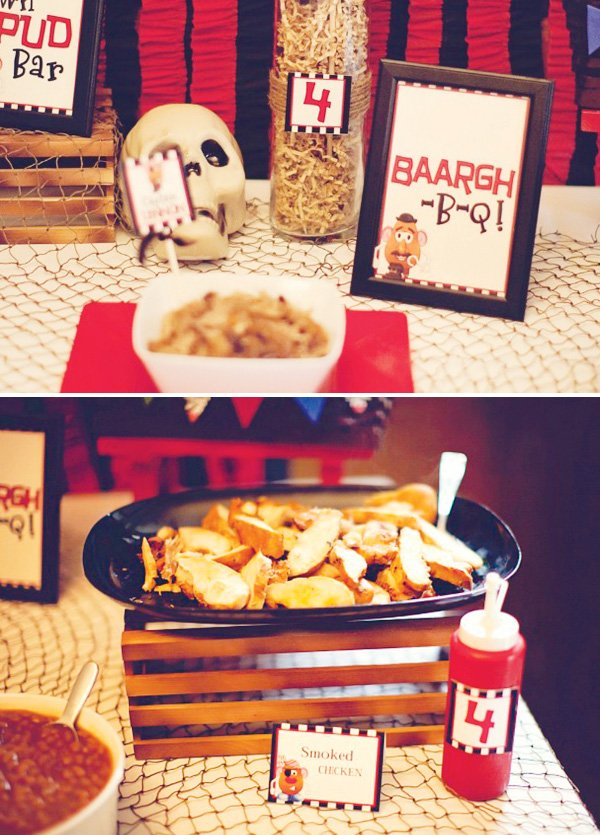 potato bar pirate party