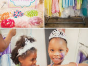 princess dress up party