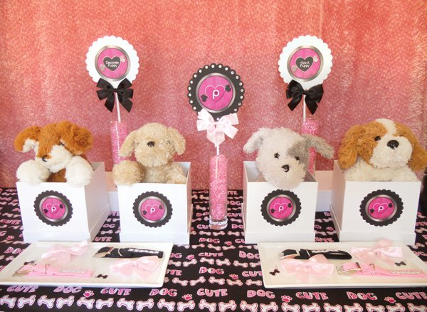 budget chic puppy luv valentine's day party