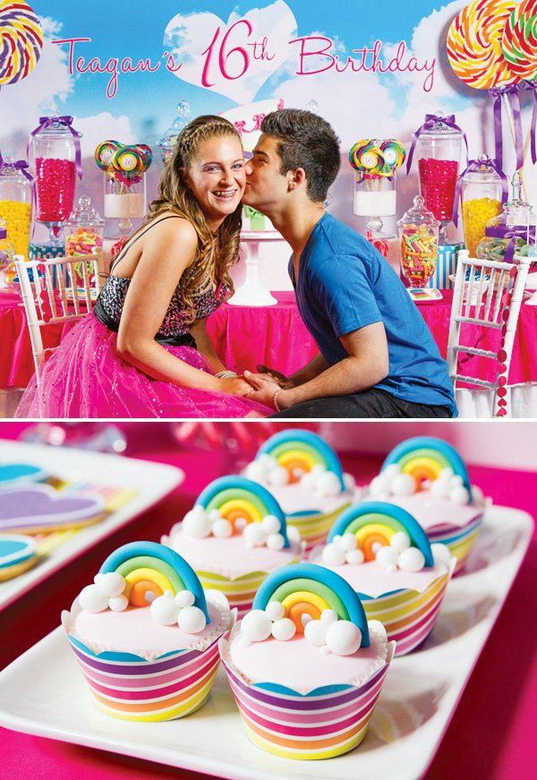 Katy Perry Inspired Teenage Dream Sweet Sixteen Hostess with