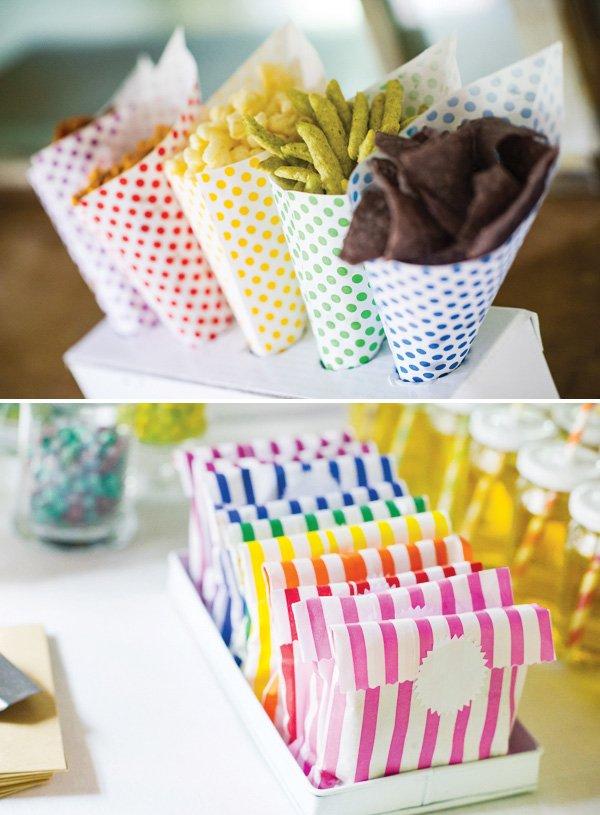 rainbow party snacks