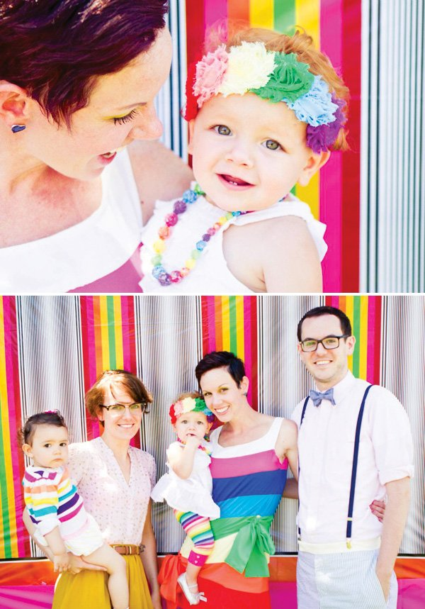 rainbow photo backdrop