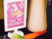 snow bunny carrot tutorial