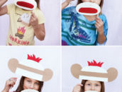 sock monkey photo booth