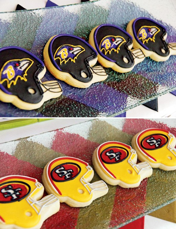 superbowl 2013 cookies
