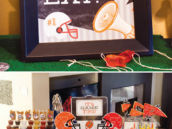 super bowl party ideas - food table