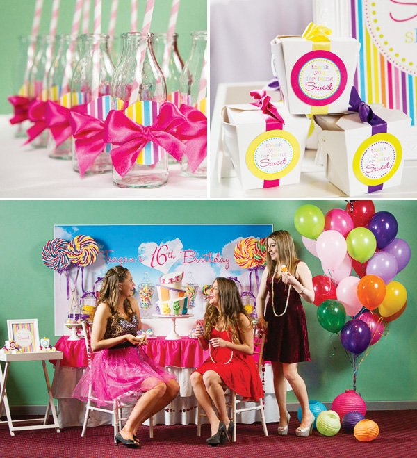 teenage dream sweet sixteen party
