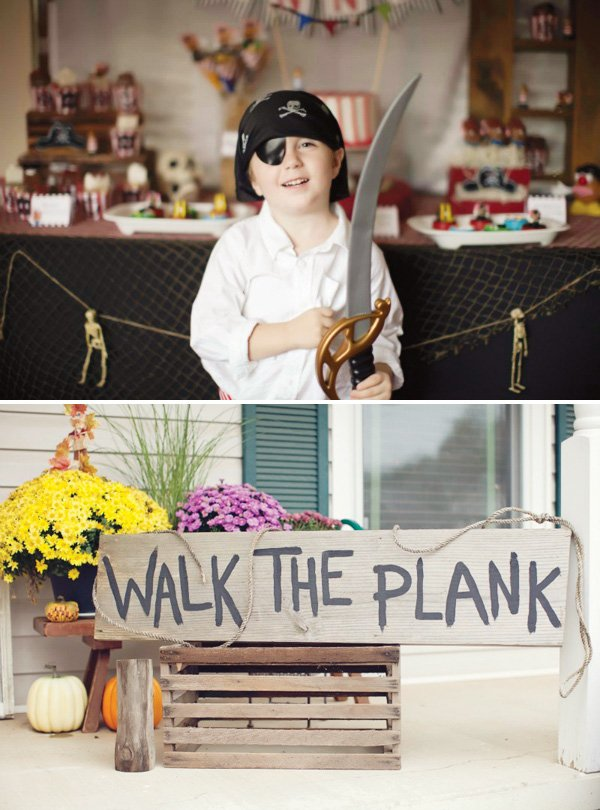 walk the plank diy sign