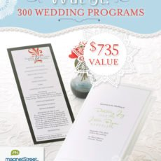 magnet street weddings program giveaway