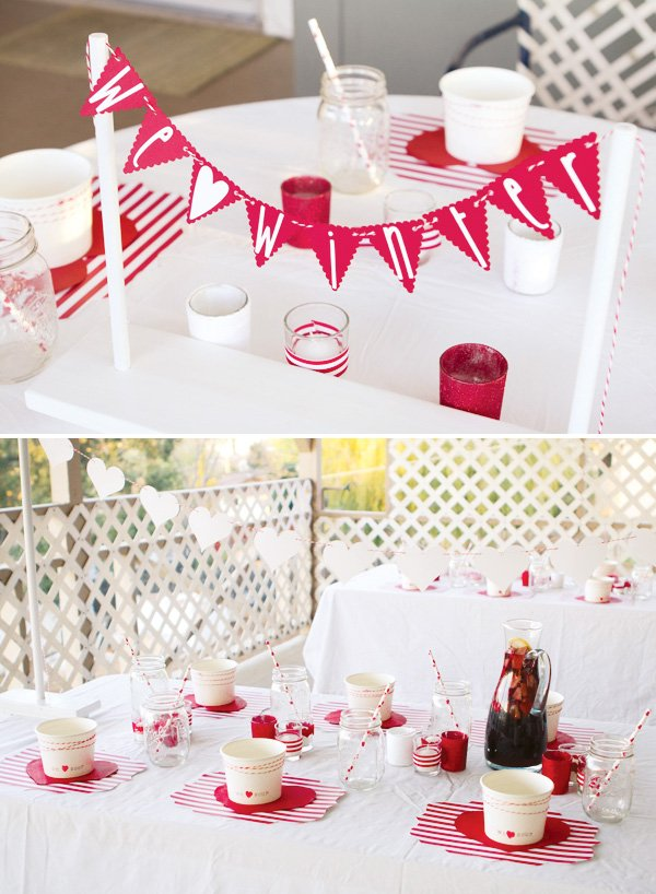 winter valentines day party