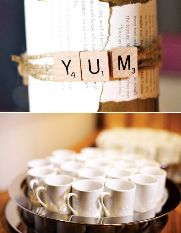 ym scrabble tiles and mugs