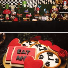 Alice in Wonderland Dessert Table